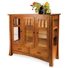 Oak Hutch And Buffet by Amish Buffets U0026 Sideboards Amish Furniture Shipshewana