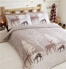 Brushed Cotton Duvet Cover Double Starlight 100 Brushed Cotton Reversible Duvet Quilt Cover Bedding