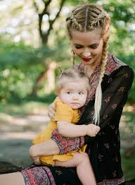 Amber Fillerup by Barefoot Blonde Amber Fillerup Wearing Joie Dress With Family In