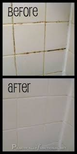 Cleaning Grout With Vinegar Mix 7 Cups Water 1 2 Cup Baking Soda 1 3 Cup Lemon Juice And 1 4