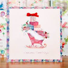 Paper Craft Christmas Cards - what a beautiful christmas card shop the victoria nelson