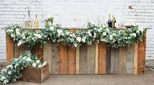 garlands for weddings friend of faux flowers luxury wedding faux floral garlands