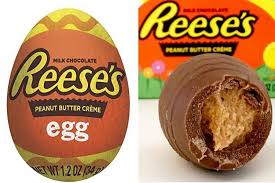 reese easter egg reese s 50p peanut butter créme eggs are back and it s not even