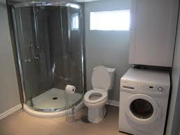 new basement laundry room bathroom reno reveal the elm life
