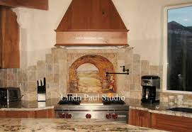 kitchen backsplash murals tuscany wall murals gallery home wall decoration ideas
