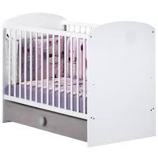 chambre bébé lola lola lit 60x120cm blanc 60x120 de sauthon sélection lits 60x120