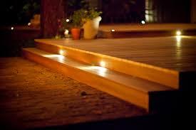 Recessed Deck Lighting Deck Lighting By Dekor Deck Lighting Kits For Contractors And Diyers