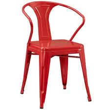 Red Metal Chair Distressed Metal Chairs Wayfair