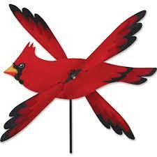 cardinal bird home decor amazon com whirligig spinner cardinal spinner garden u0026 outdoor