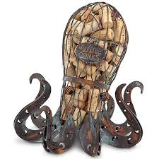 octopus wine cork cage