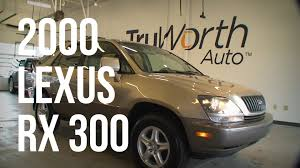 lexus rx 350 used indianapolis 2000 lexus rx 3000 heated leather seats cruise control