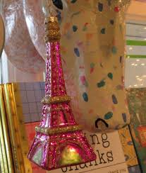 pink thing of the day pink eiffel tower ornaments the worley gig