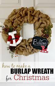 christmas burlap wreaths diy christmas burlap wreath how to make a burlap wreath for