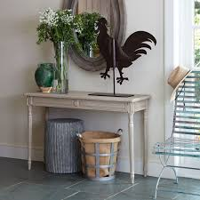 Grey Entryway Table by Antiqued Gustavian Console Wisteria