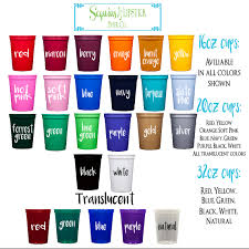 cups personalized plastic cups eat drink and be merry holiday