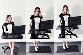 simple standing desk converter is a standing desk converter better than a stand up desk