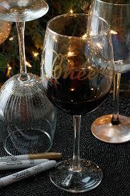 belle vie DIY Wine Glasses using Sharpies belle vie