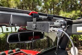 jeep jk frame cb radio mount