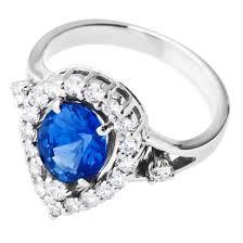 blue gemstones rings images Gemstones for communication beadage jpg