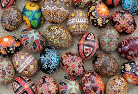 wax easter egg decorating pysanka