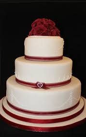 valentines day 3 tier wedding cake cakecentral com