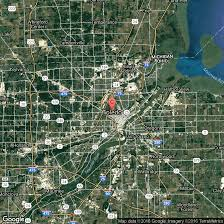 Toledo Ohio Map Romantic Hotel Stays In Toledo Ohio Getaway Tips