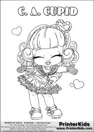 monster high chibi coloring pages pin by montzalee wittmann on coloring pages for adults pinterest