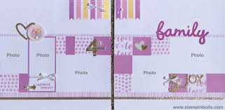 baby girl photo album whimsy handmade baby girl album stin buds with ctmh
