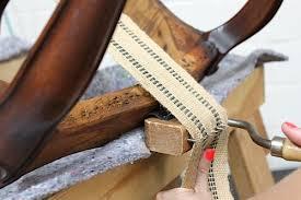 Where To Buy Upholstery Webbing Upholstery Basics Constructing Coil Seats U2014 Part I U2013 Design Sponge