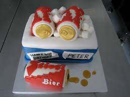 beer can cake peter u0027s 40th birthday beer cake cakedin