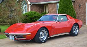 1972 corvette stingray 454 for sale 1972 chevrolet corvette 454 big block s match a c automatic frame