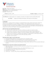 resume objective sle for summer job movie safety officer resume free resume exle and writing download