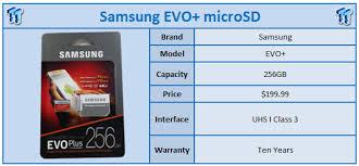 Memory Card Samsung 256gb samsung evo 256gb microsdxc memory card review