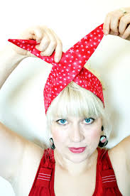 retro headbands how to tie a rockabilly headband maple and oak designs