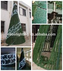 Oversized Christmas Decorations Commercial by Cone Xmas Tree Large Outdoor Cone Xmas Tree Commercial Christmas