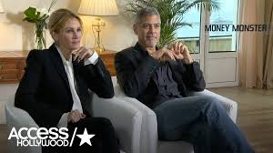 julia roberts u0026 george clooney talk u0027money monster u0027 u0026 share