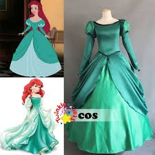 Ariel Mermaid Halloween Costume Adults Aliexpress Buy 2017 Costumes Women Disnye