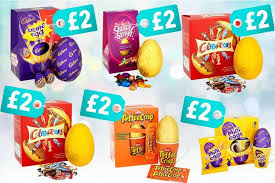 cheap easter eggs tesco is slashing the price of large and medium easter eggs in