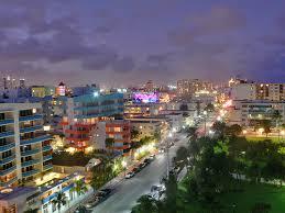imagenes miami de noche lugares turisticos de miami