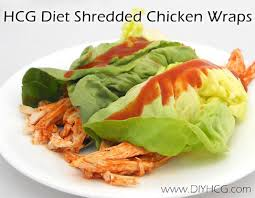 hcg phase 2 recipes hcg shredded chicken wraps do it yourself