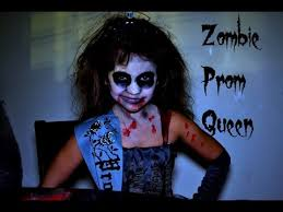 Dead Prom Queen Halloween Costume Zombie Prom Queen Bella U0027s Halloween Tutorial