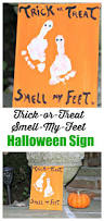 trick or treat smell my feet halloween kid craft halloween kids