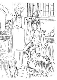 kids n fun com 24 coloring pages of harry potter and the