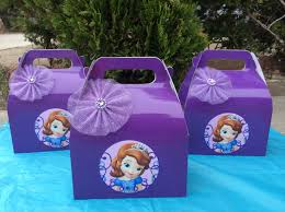 sofia the party ideas sofia the candy box 12 favor box