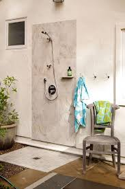 Outdoor Showers Fixtures - spectacular outdoor shower ideas photos decorating ideas images in