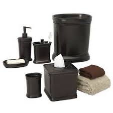 black 5 set oil rubbed bronze bathroom accessory sets fth8593 5jpg