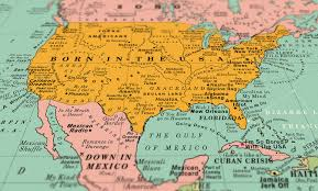 Us And Mexico Map This World Map Is Made Of 1 200 Songs Including Tracks From Green