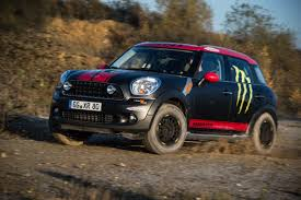 subaru wrx off road the mini countryman now has rugged goodies the fast lane car