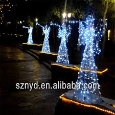 Lighted Penguin Outdoor Christmas Decoration by Outdoor Christmas Decorations Christmas Light 3d Led Lighted Angel