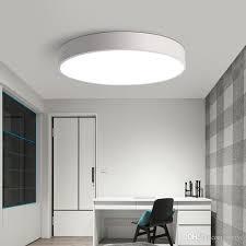 round 40w led ceiling light fixture l bedroom kitchen 2018 modern led ceiling light black white round simple decoration